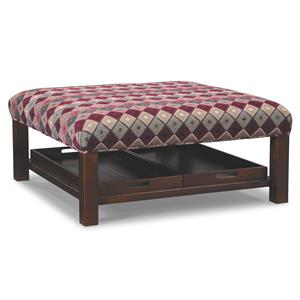 Craftmaster Accent Ottomans Storage Ottoman