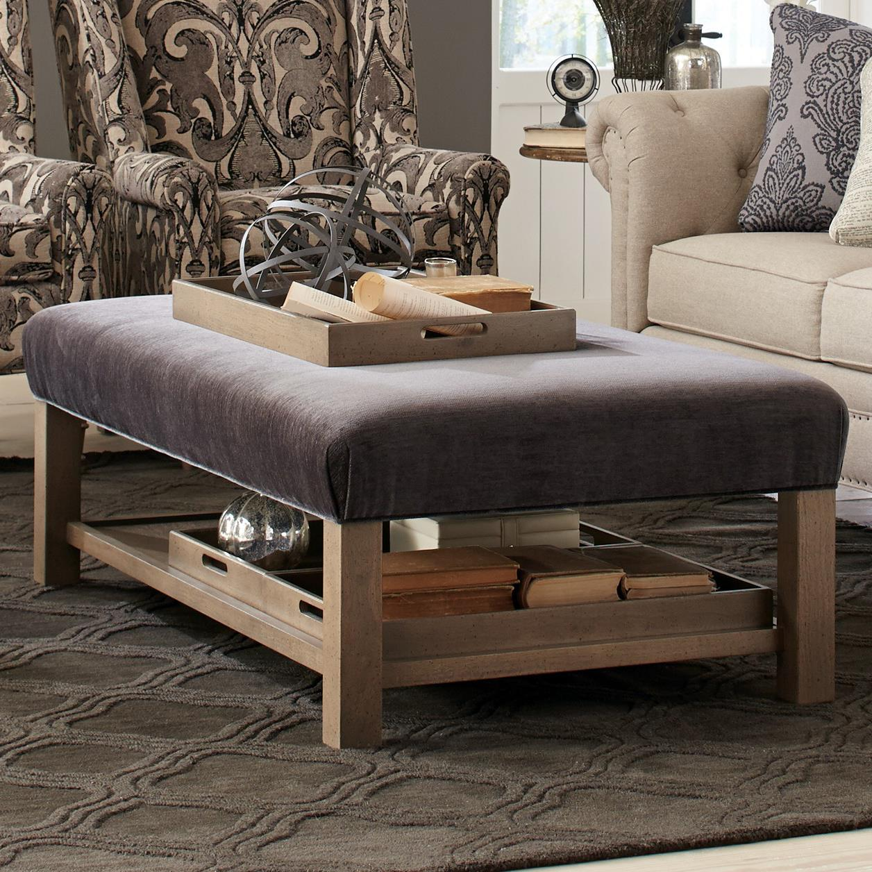 Storage Bench Ottoman With Tray