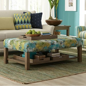 Storage Bench Ottoman with Tray Storage