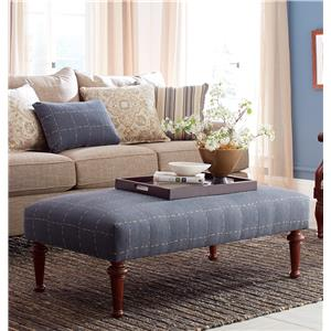 Hickorycraft Accent Ottomans Cocktail Ottoman