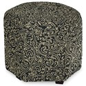 Craftmaster Accent Ottomans Accent Ottoman - Item Number: 043200-BATIKI-23