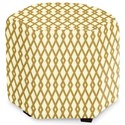 Craftmaster Accent Ottomans Accent Ottoman - Item Number: 043200-DIAMOND-03