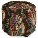 Craftmaster Accent Ottomans Accent Ottoman - Item Number: 043200-FLAMBOYANT-25