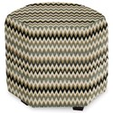 Craftmaster Accent Ottomans Accent Ottoman - Item Number: 043200-JITTERBUG-41