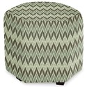 Craftmaster Accent Ottomans Accent Ottoman - Item Number: 043200-SEISMIC-22