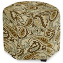 Craftmaster Accent Ottomans Accent Ottoman - Item Number: 043200-ZINNIA-10