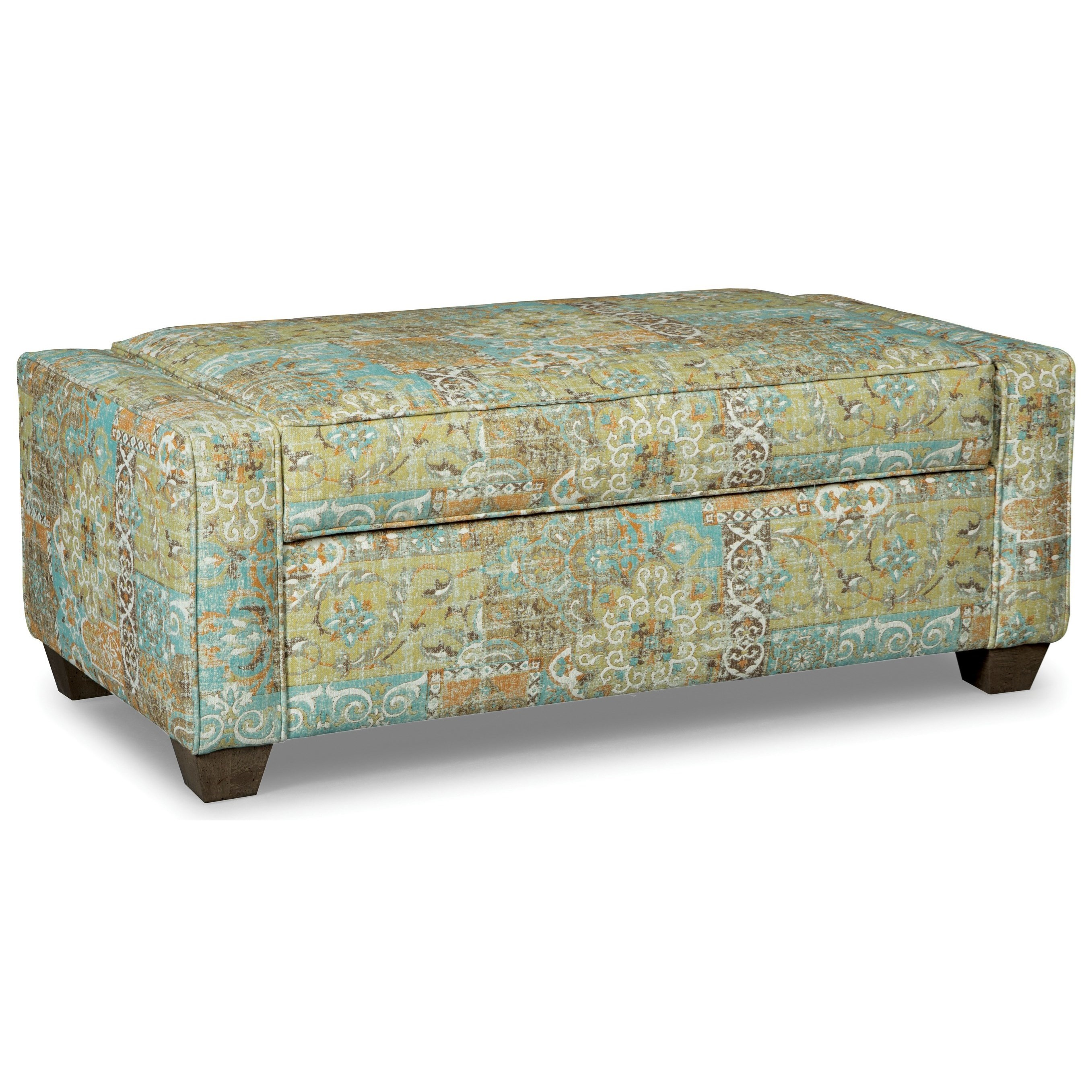 Pleasant Craftmaster Accent Ottomans 064600S Lift Top Storage Ottoman Pabps2019 Chair Design Images Pabps2019Com