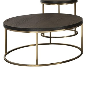 Craftmaster Craftmaster Accent Tables Round Cocktail Table
