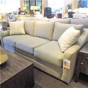 Sofa w/ Cresent Arm
