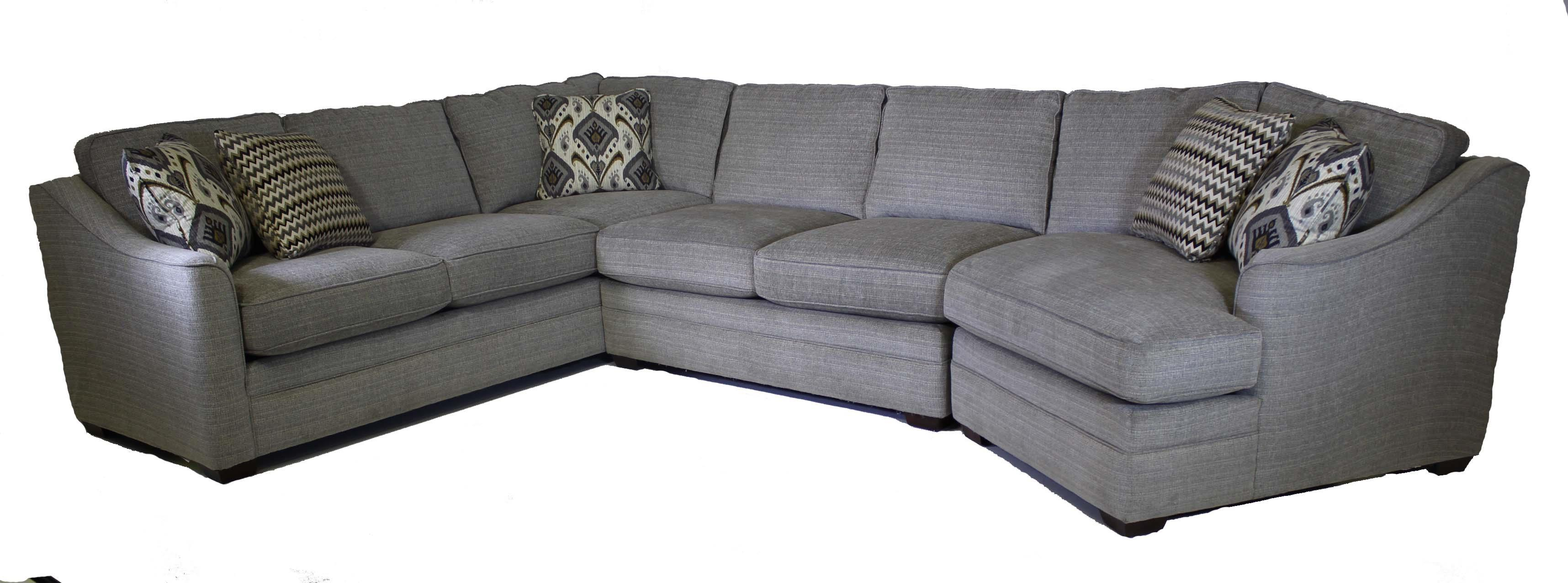 Craftmaster F9 Custom Collection 3-Piece Sectional  - Item Number: F9 Sectional