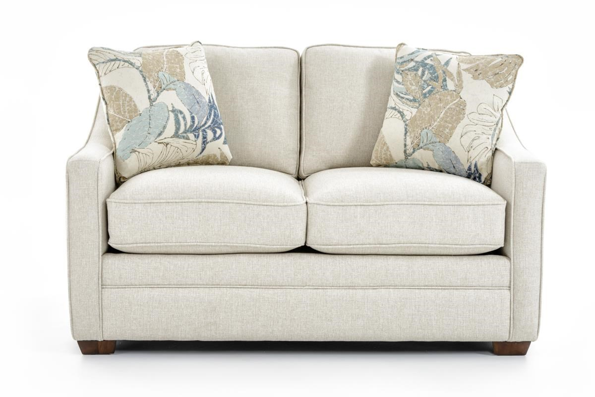 Craftmaster F9 Custom Collection Customizable Loveseat - Item Number: F933130 GUEST LIST 31