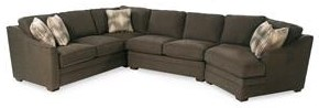 Customizable 3PC Sectional Sofa