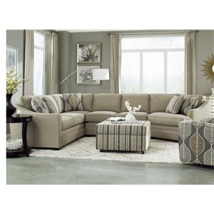 Craftmaster F9 Custom Collection <b>Custom</b> 3-Piece Sectional