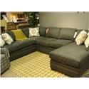 Craftmaster F9 Custom Collection <b>Custom</b> 3-Piece Sectional - Item Number: F9XXX56+33+41-MAINE-31