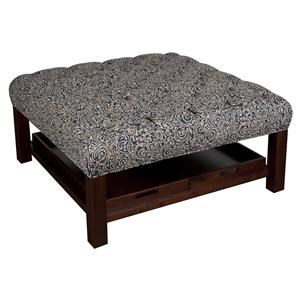 Morris Home Furnishings Hadley Hadley Cocktail Ottoman