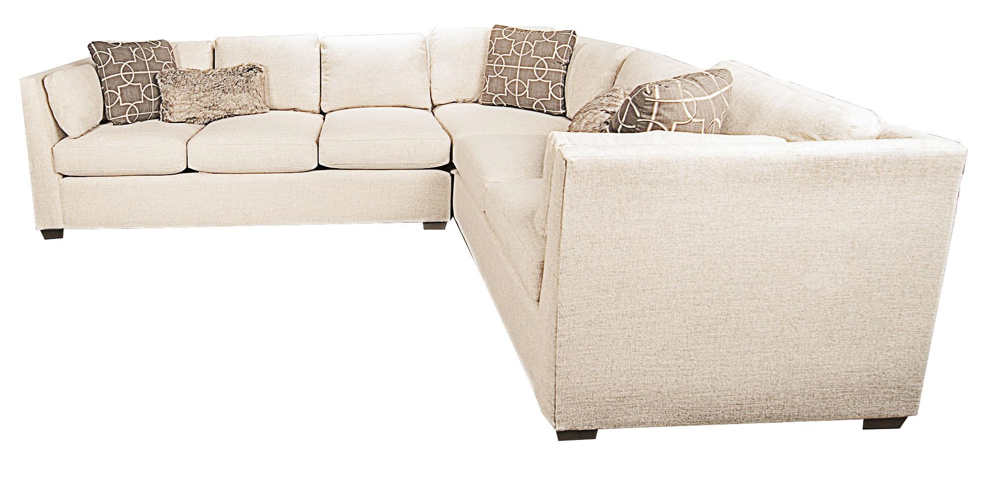 Morris Home Furnishings Highline Highline 2-Piece Sectional - Item Number: 134124053