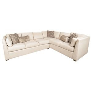 Morris Home Furnishings Highline Highline 2-Piece Sectional