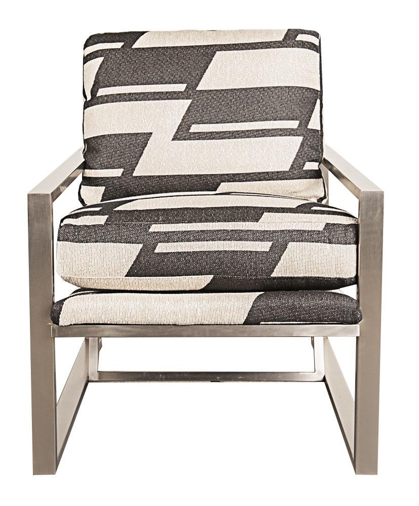 Morris Home Furnishings Highline Highline Metal Accent Chair - Item Number: 509746276