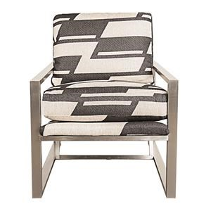 Morris Home Furnishings Highline Highline Metal Accent Chair