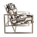 Morris Home Furnishings Highline Metal Accent Chair