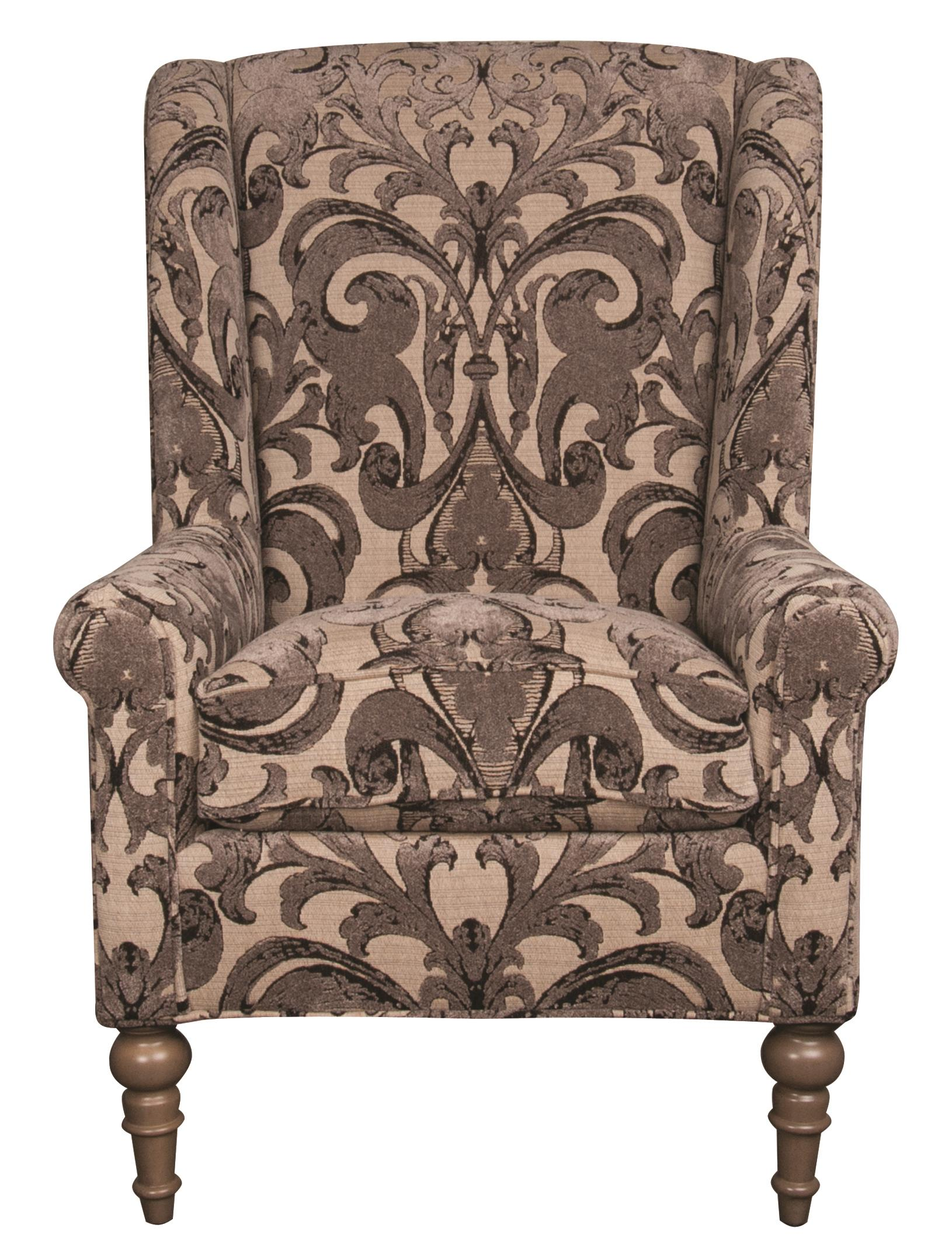 Morris Home Furnishings Humphrey Humphrey Wing Chair - Item Number: 195725894