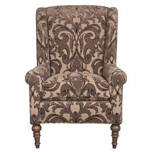 Morris Home Furnishings Humphrey Humphrey Wing Chair