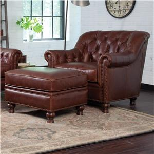 Craftmaster L152350 Chair and Ottoman Set