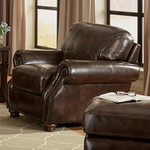 Craftmaster L161100 Chair and Ottoman Set