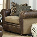 Craftmaster L161500 Traditional Chair with Tufted Back
