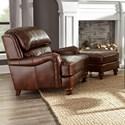 Craftmaster L162250 Chair & Ottoman - Item Number: L162210+L162200 Tinley-09
