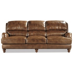 Craftmaster L162250 Craftmaster Leather Sofa