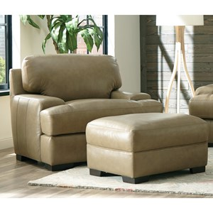 Craftmaster L163200 Chair and Ottoman Set