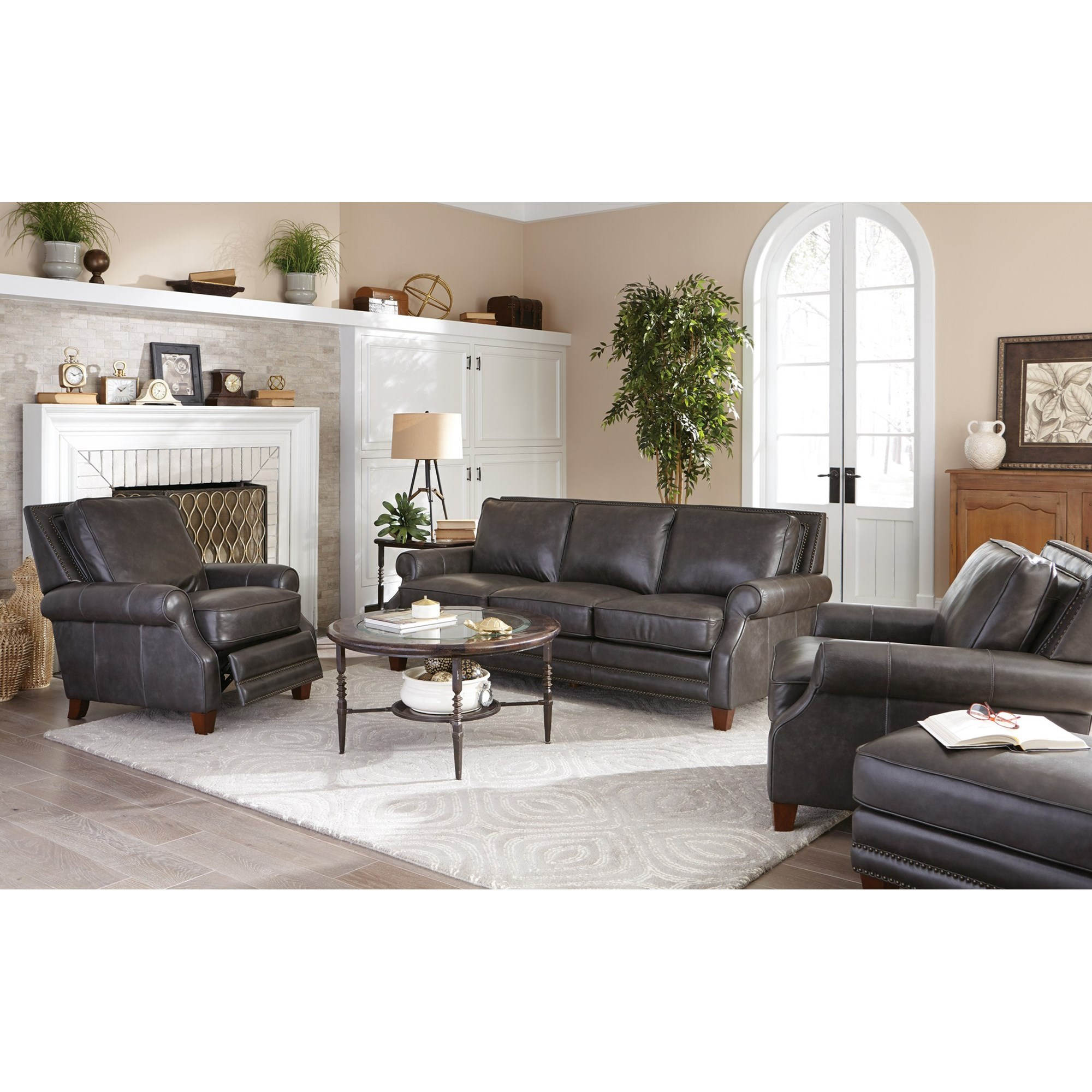 Craftmaster L1640 Living Room Group Boulevard Home Furnishings Stationary Living Room Groups