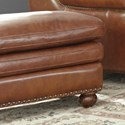 Craftmaster L164650 Leather Ottoman - Item Number: L164600-DOWNEY-09