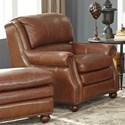 Craftmaster L164650 Leather Chair - Item Number: L164610-DOWNEY-09