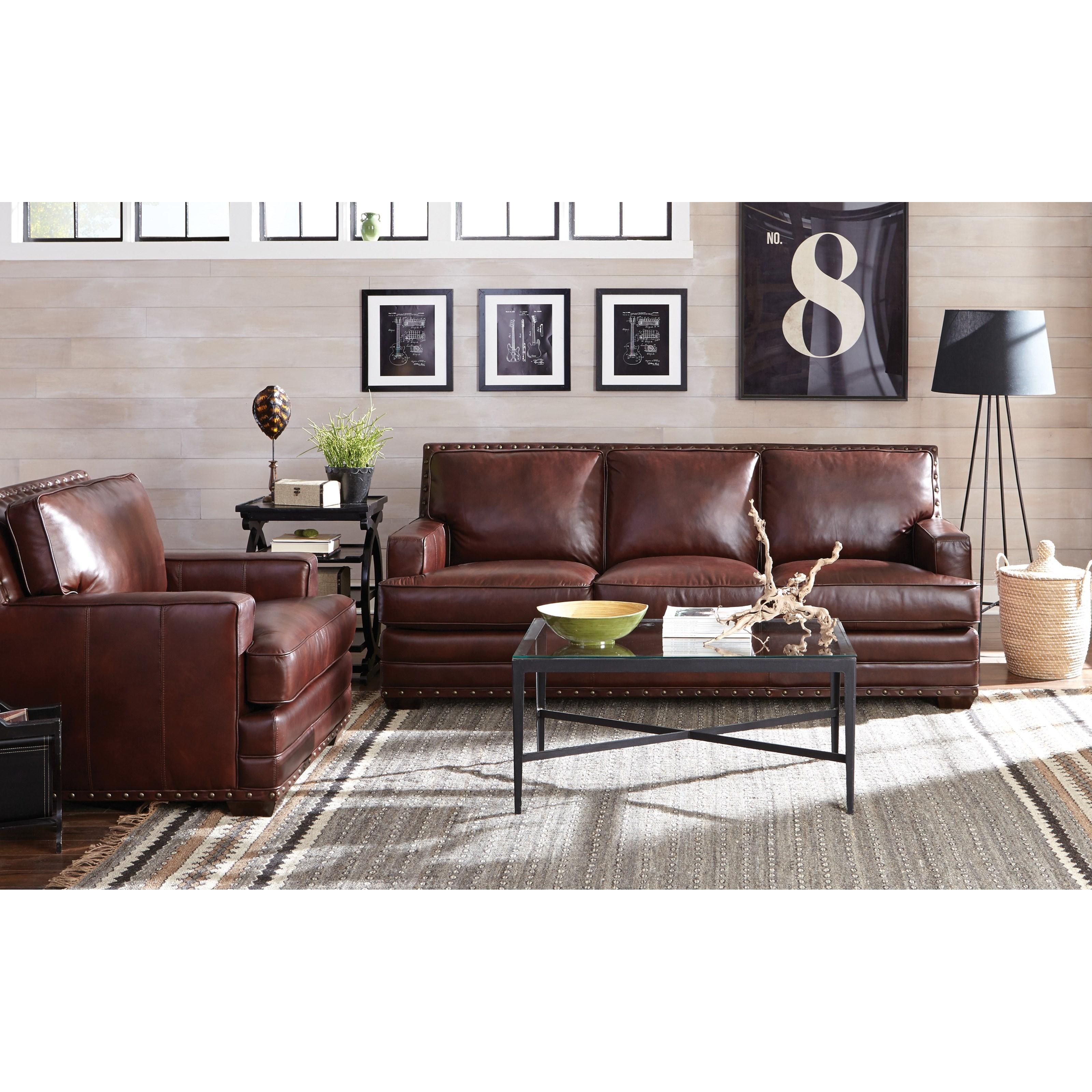 Craftmaster L1652 Transitional Sofa With Nailhead Trimming Belfort Furniture Sofa