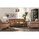Craftmaster L171450 Craftmaster Traditional Leather Recliner