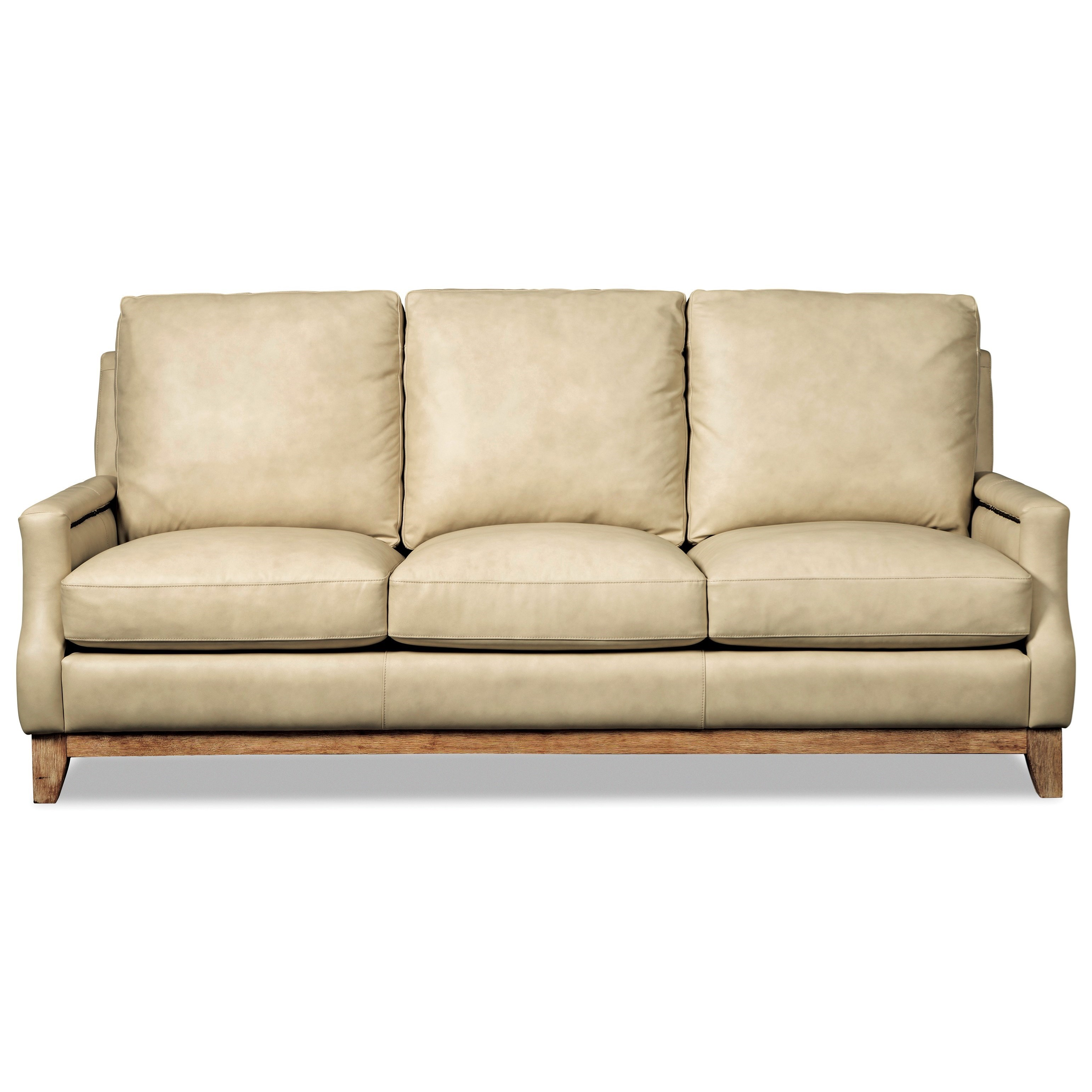 Hickorycraft L172550 Transitional Nailhead-Studded Sofa