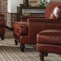 Craftmaster L180950 Chair & Ottoman Set - Item Number: L180910+L180900-BULLOCK-09