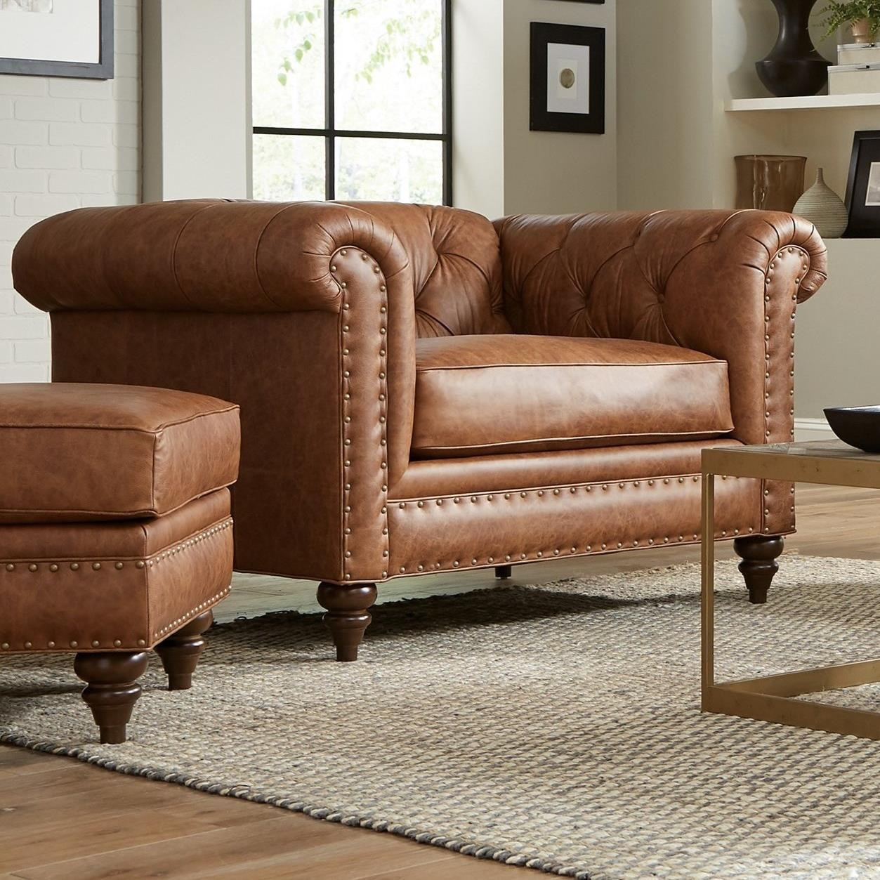 Oversized Chair & Ottoman Set