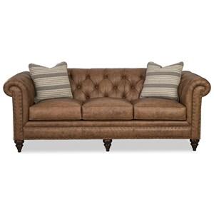 88 Inch Sofa w/ Pillows