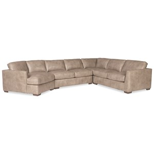 5-Seat Sectional Sofa with LAF Cuddler