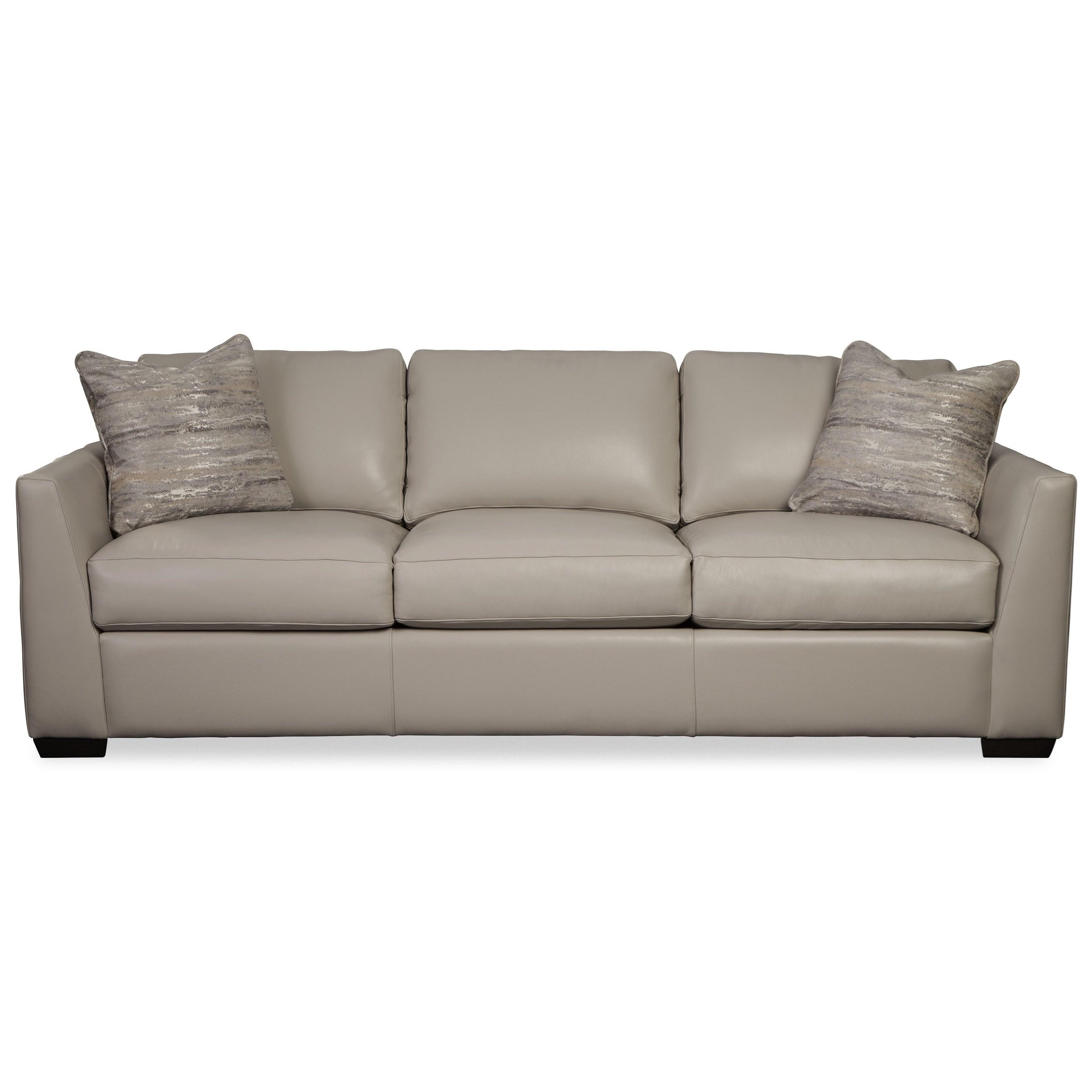"L783950 95"" Sofa w/ Pillows by Hickorycraft at Johnny Janosik"