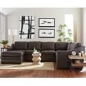 Craftmaster L9 Custom - Design Options Custom 3 Pc Sectional Sofa w/ Power Recliner - Item Number: L943342+33+55P