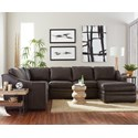Craftmaster L9 Custom - Design Options Custom 3 Pc Sectional Sofa w/ Power Recliner - Item Number: L943356P+33+41-SYLVIA-41