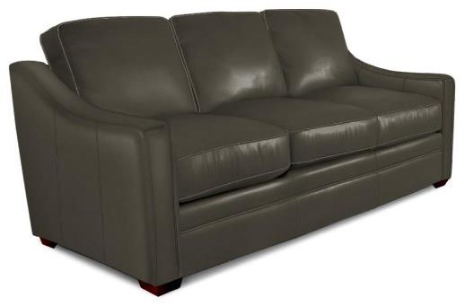 L933 Leather Sofa by Craftmaster at Stoney Creek Furniture