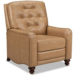 Craftmaster Leather Accents High Leg Recliner