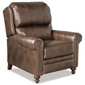 Craftmaster Leather Accents High Leg Recliner - Item Number: L060610-GALVESTON-08