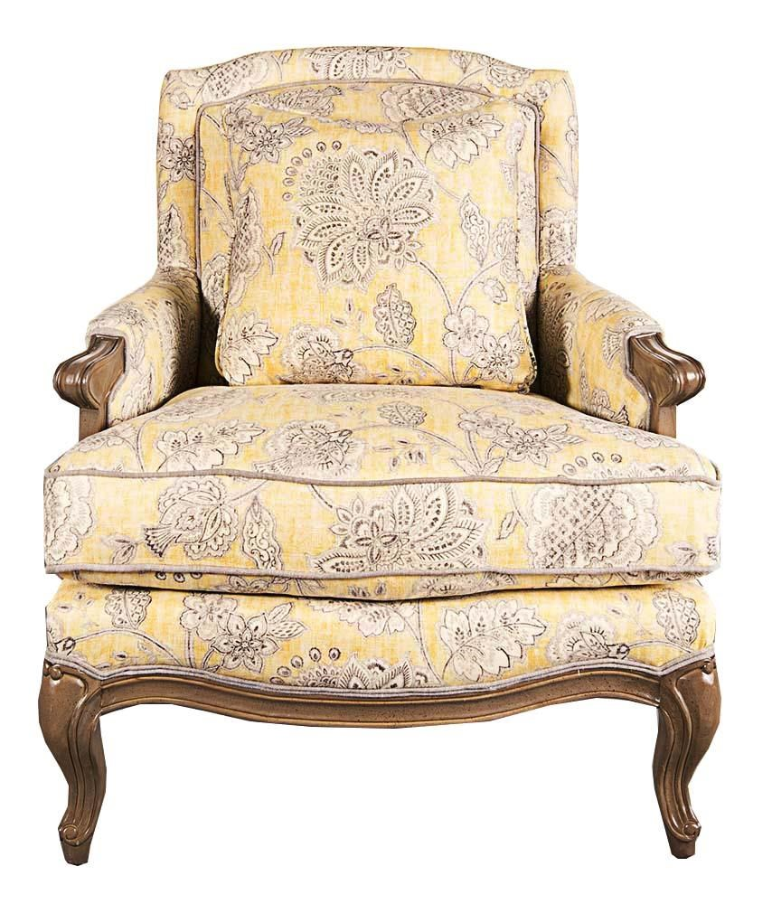 Lynee Wood Accent Chair