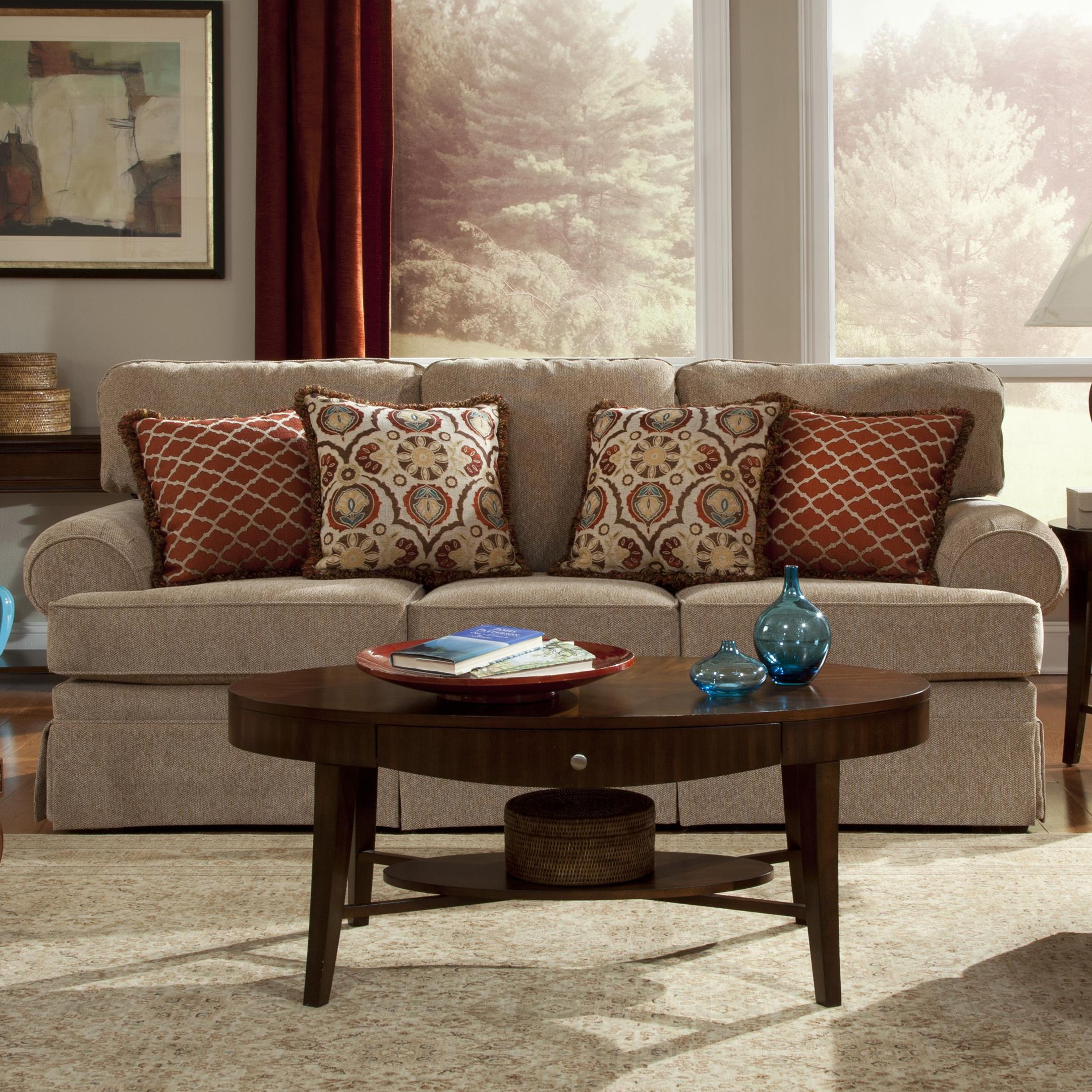 Craftmaster 4670 Traditional Sofa Sleeper Jacksonville